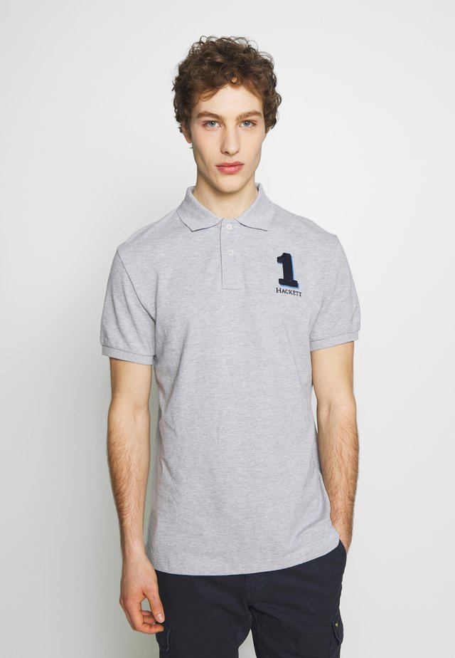 NEW CLASSIC FIT - Polo -  grey marl