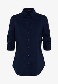 Steffen Schraut - BENITA ESSENTIAL BLOUSE - Button-down blouse - navy - 4