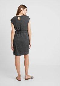 YAS - YASTAMMY DRESS - Sukienka z dżerseju - dark grey melange - 2