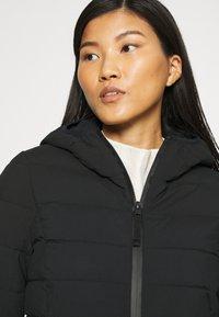 Abercrombie & Fitch - PUFFER - Classic coat - black - 4