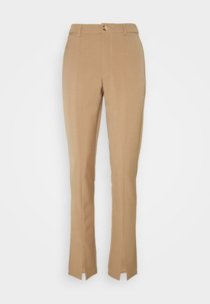 LUNI DRESSED PANT - Trousers - camel