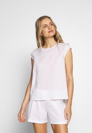 KIAH KURZ ARM SET - Pyžamo - white