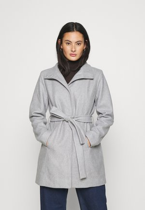 VICOOLEY NEW COAT - Kåpe / frakk - light grey melange