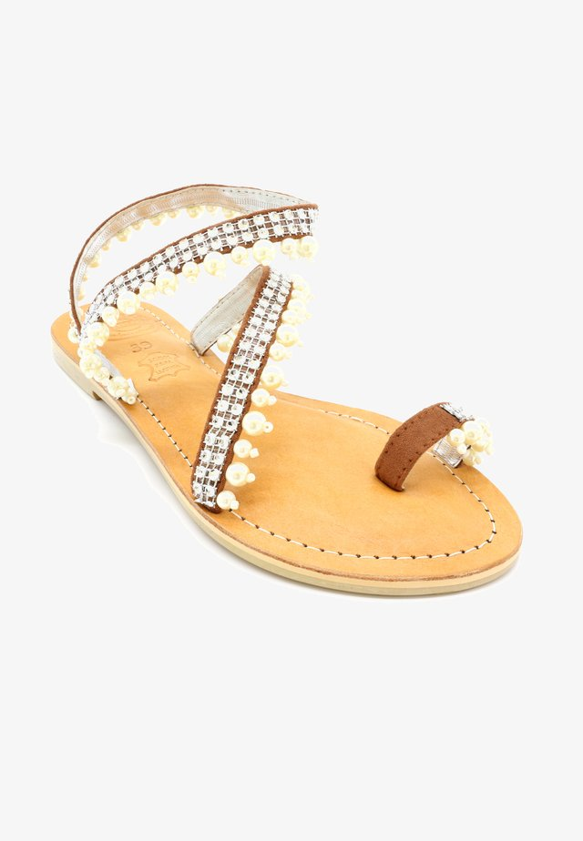 PEARL - Sandals - silver