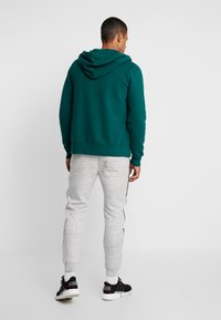 Hollister Co. - CORE ICON - Zip-up hoodie - emerald - 2