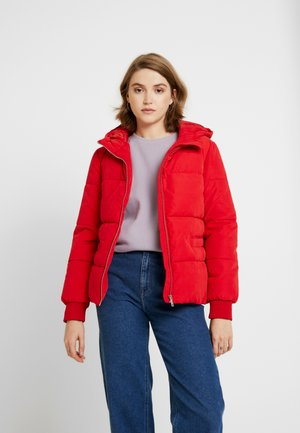 Classic coat - chinese red
