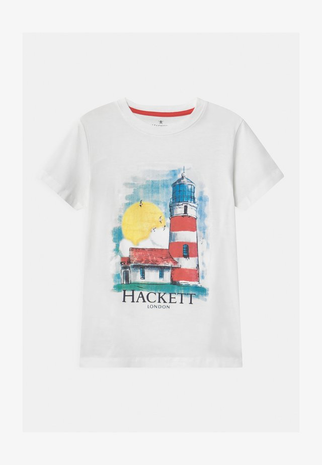 LIGHT HOUSE - Camiseta estampada - white