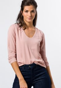 zero - MIT TRANSPARENTEN ÄRMELN - Long sleeved top - misty rose - 0