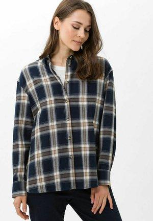 STYLE VIVIAN - Button-down blouse - marine