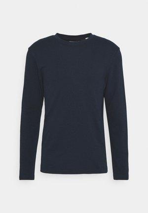 Topper langermet - navy blazer