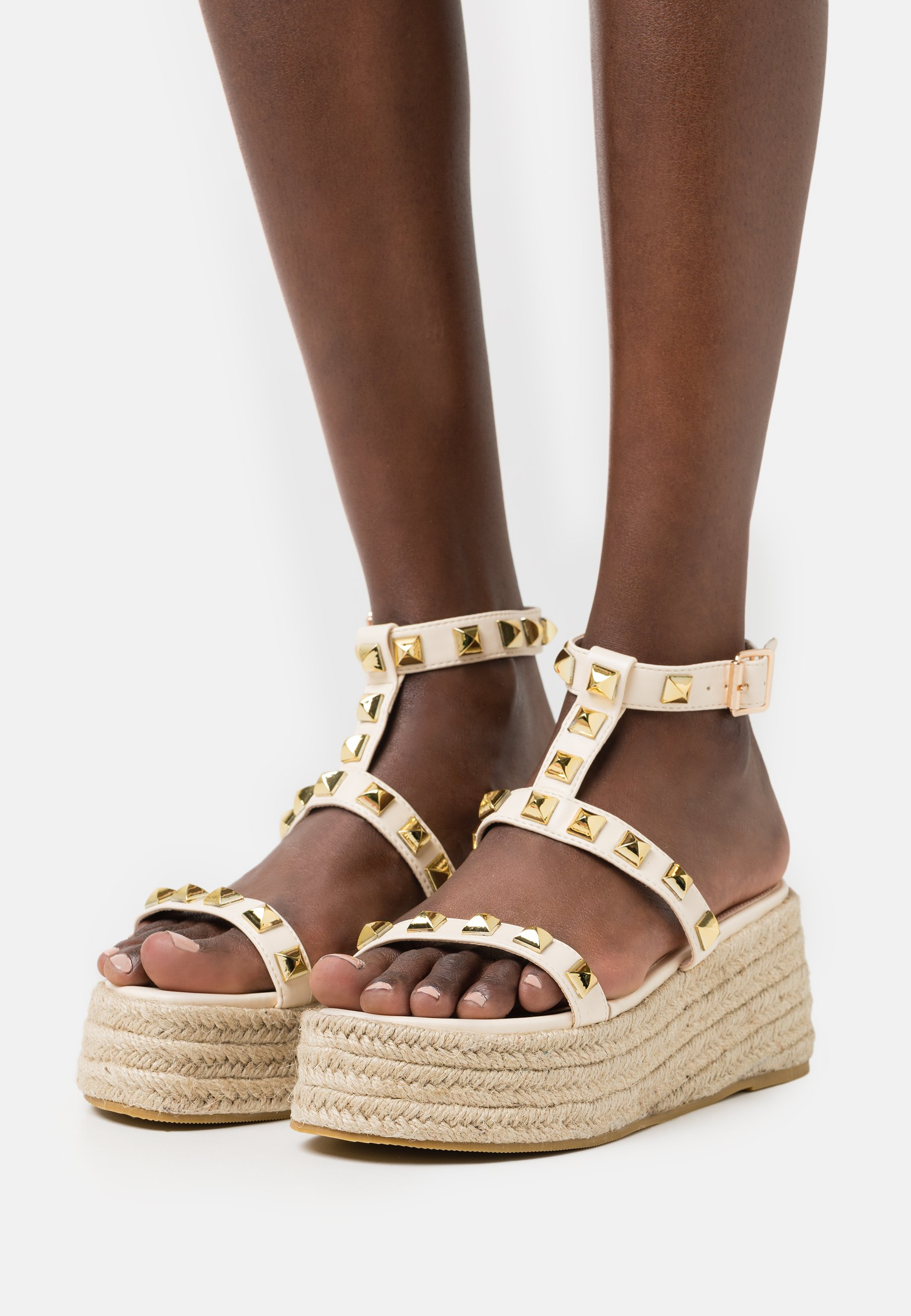 Women MOXIE - Platform sandals - nude