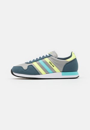 USA 84 CLASSIC RUNNING SPORTS INSPIRED SHOES UNISEX - Sneakers basse - grey/hi-res yellow/clear aqua