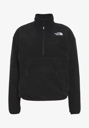 Fleece jumper - black