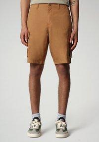 Napapijri - NOTO - Shorts - chipmunk beige - 0