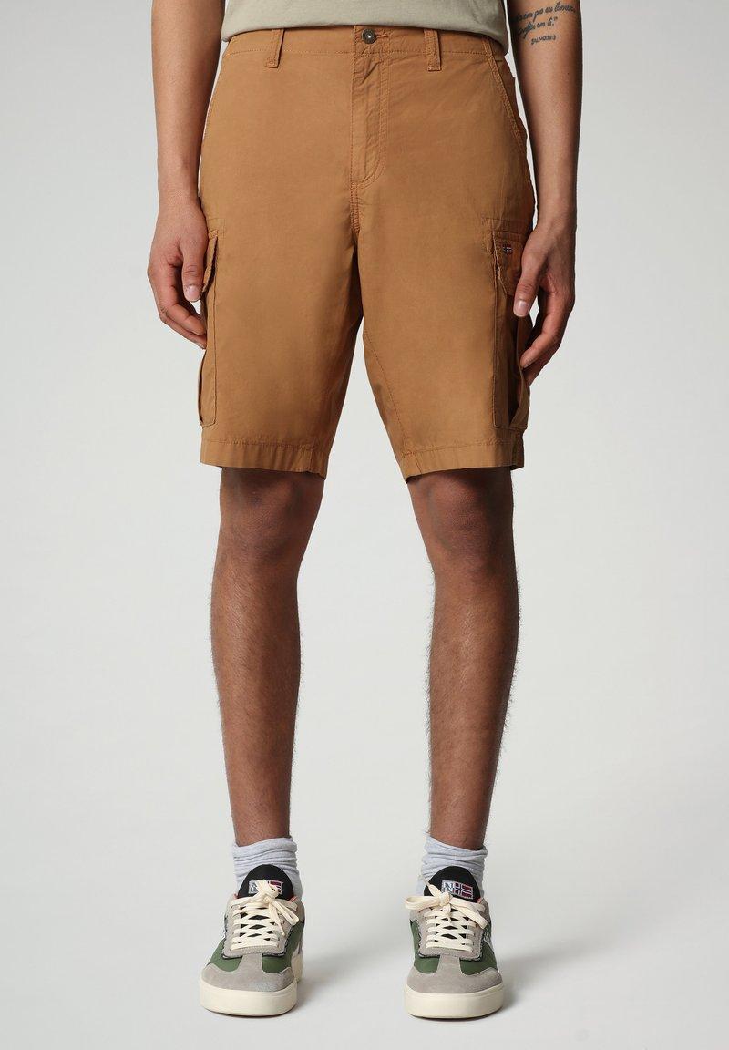 Napapijri - NOTO - Shorts - chipmunk beige