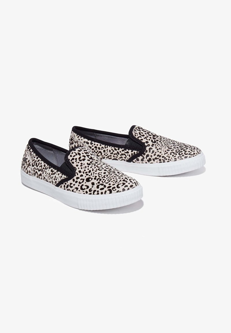 Timberland - Slip-ons - black and white leopard