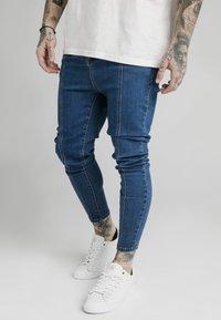 SIKSILK - Slim fit jeans - blue - 3