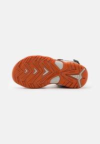 Friboo - LEATHER - Walking sandals - dark grey - 4