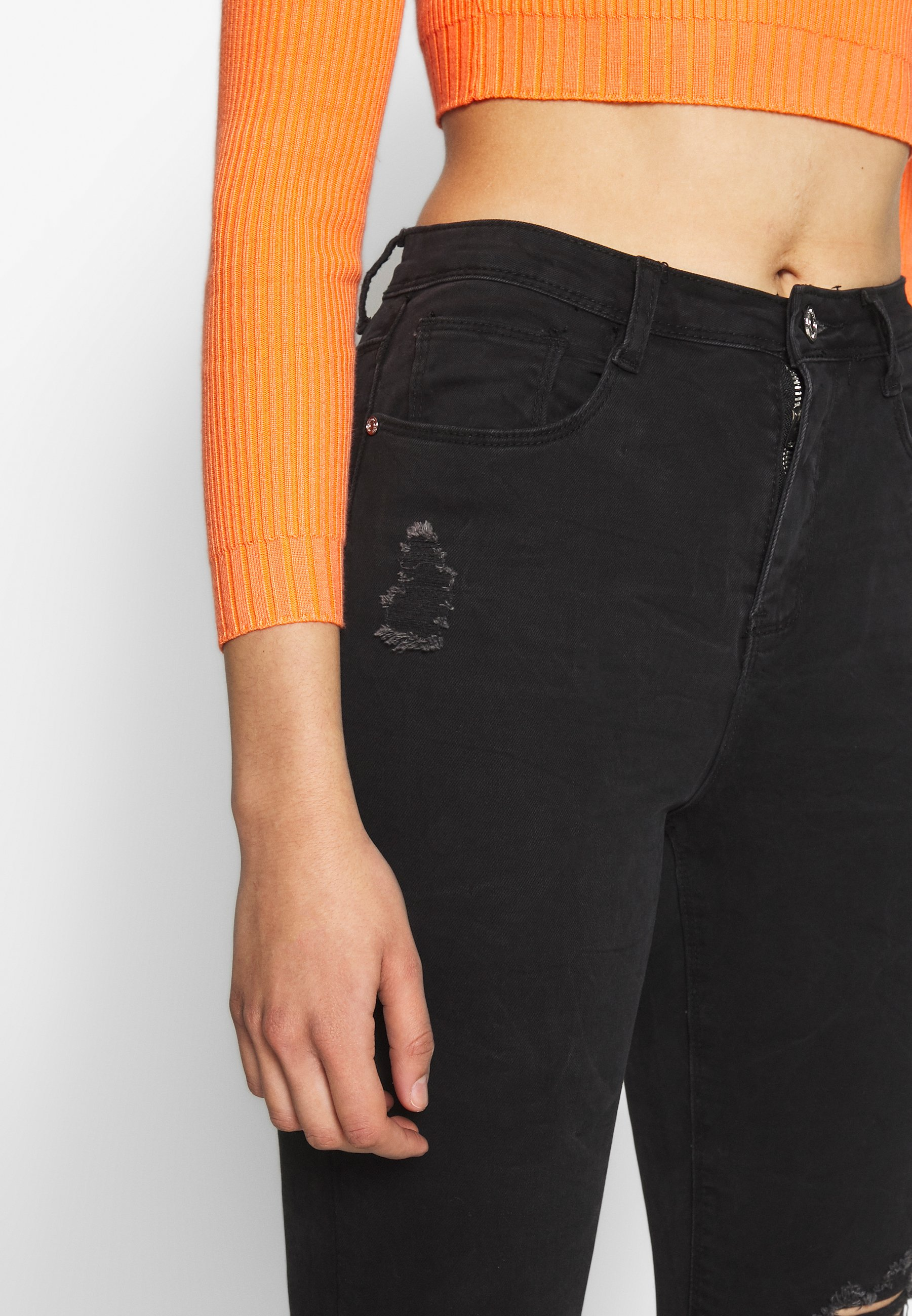 Women SINNER HIGHWAISTED AUTHENTIC RIPPED SKINNY - Jeans Skinny Fit