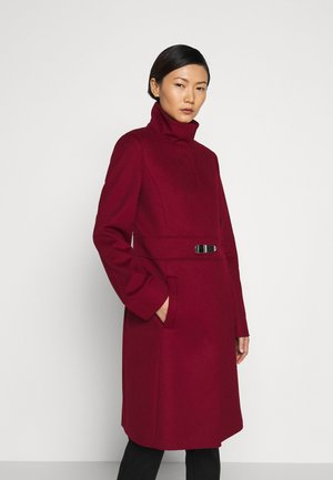 MILORA - Classic coat - open red