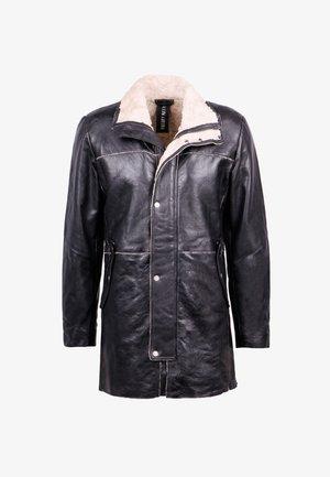 MALTE-FN - Krótki płaszcz - black/beige