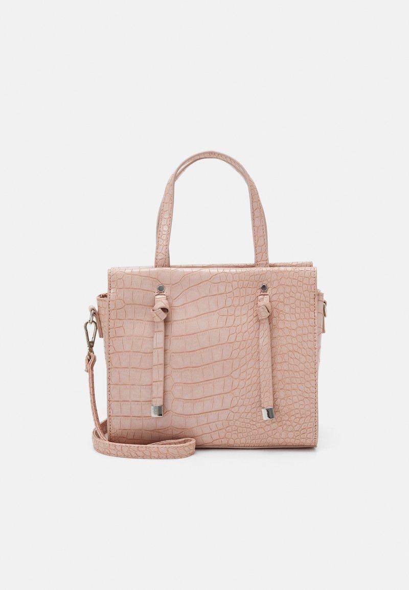 New Look - MINI TOTE - Handbag - light pink