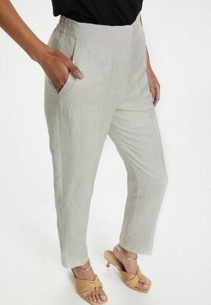 SUN NEWTON  - Trousers - whisper white