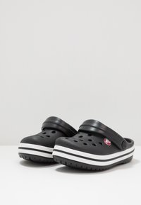 Crocs - CROCBAND - Pool slides - black - 3
