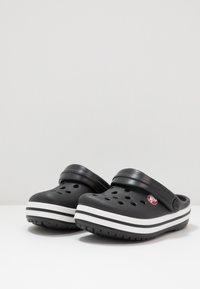 Crocs - CROCBAND - Sandały kąpielowe - black - 3
