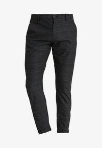 Gabba - PISA CHINO NIGHT BALANCE  - Trousers - blue check - 5
