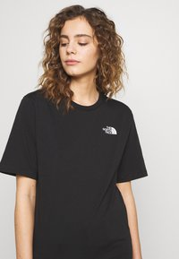 The North Face - SIMPLE DOME - Jednoduché triko - black - 5
