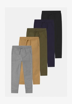5 PACK  - Pantalon de survêtement - black/dark blue/grey