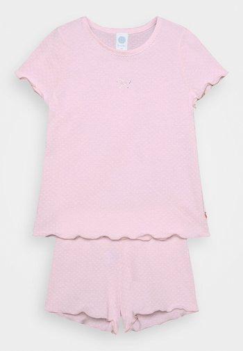 MINI SHORT ALLOVER - Pyžamo - shadow rose