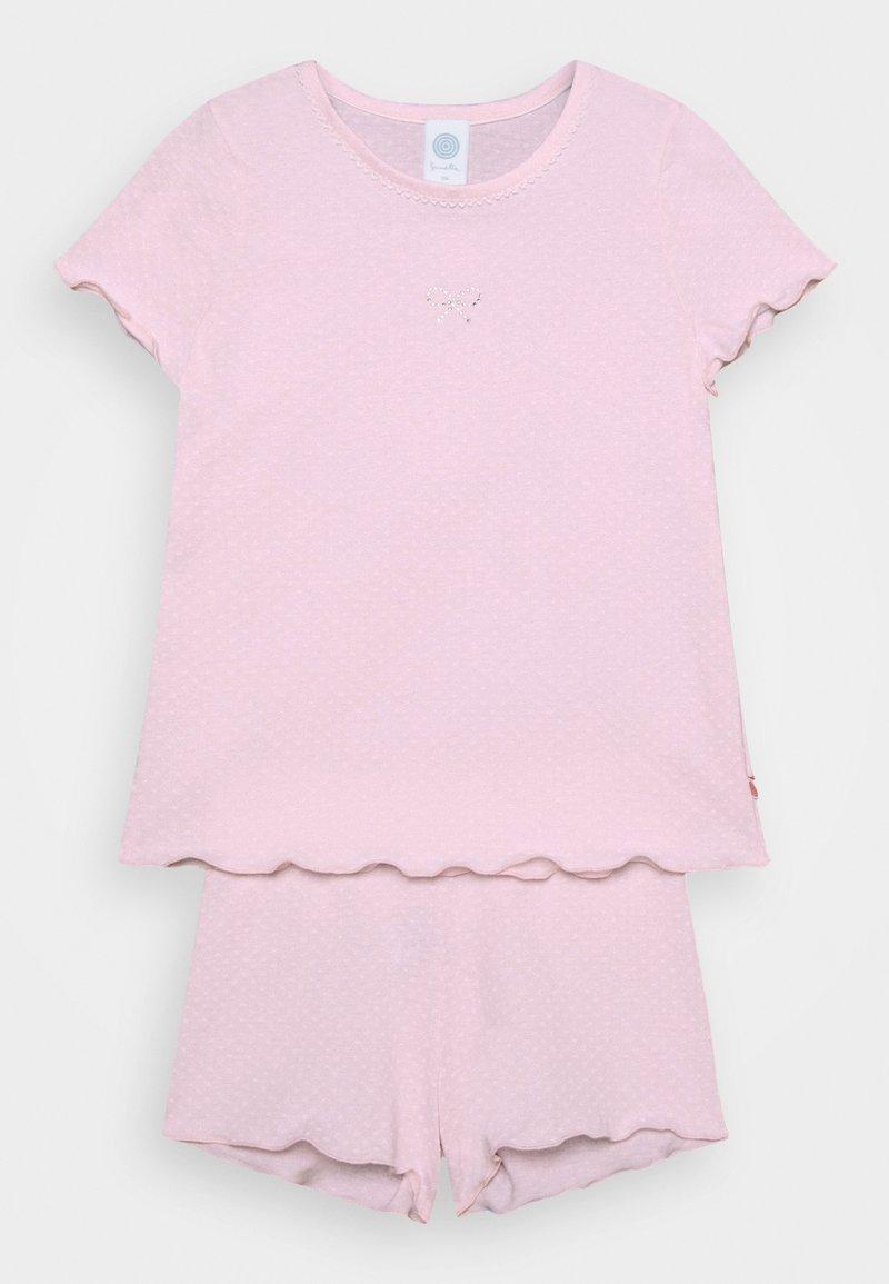 Sanetta - MINI SHORT ALLOVER - Pyžamo - shadow rose