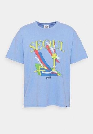 SEOUL GRAPHIC - Print T-shirt - blue