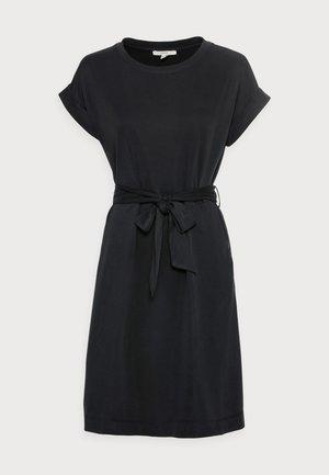 STRUC DRESS - Sukienka etui - black