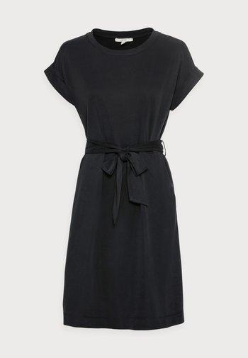 STRUC DRESS - Shift dress - black