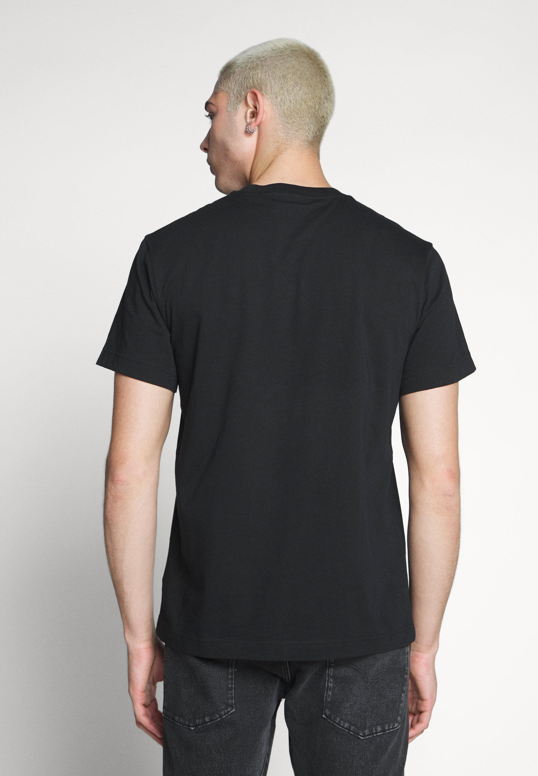 Weekday BILLY HEY MOON - Print T-shirt - black iaCOK