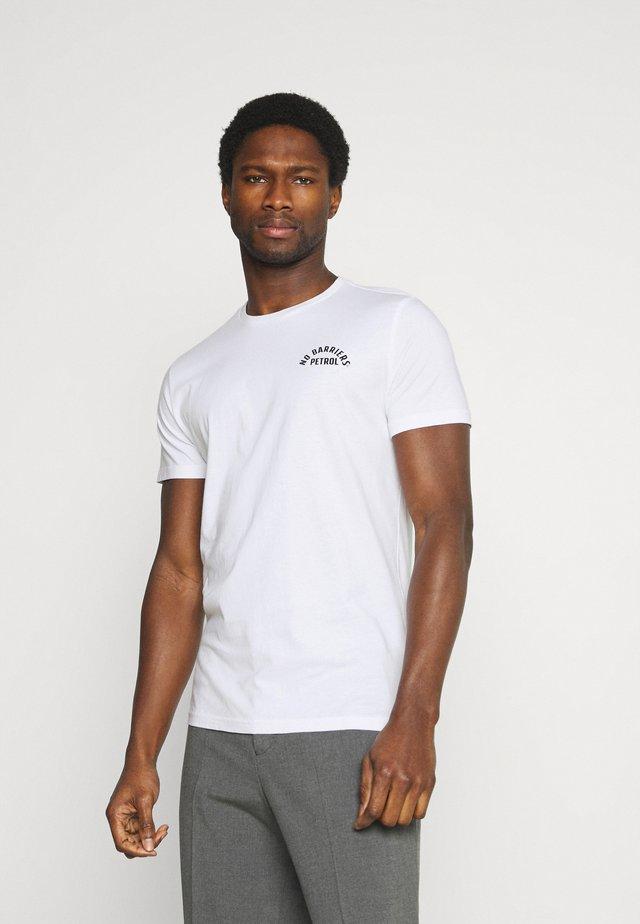 T-shirt con stampa - bright white