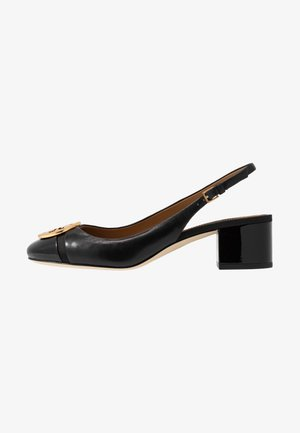 MINNIE CAP-TOE SLINGBACK - Klassieke pumps - perfect black