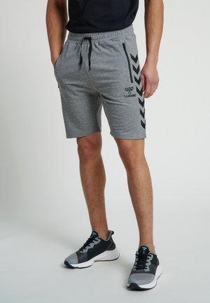 Korte sportsbukser - dark grey melange