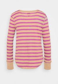 GAP - WAFFLE - Long sleeved top - purple stripe - 1