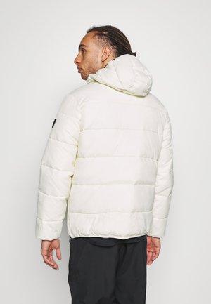 HOODED JACKET - Training jacket - offwhite