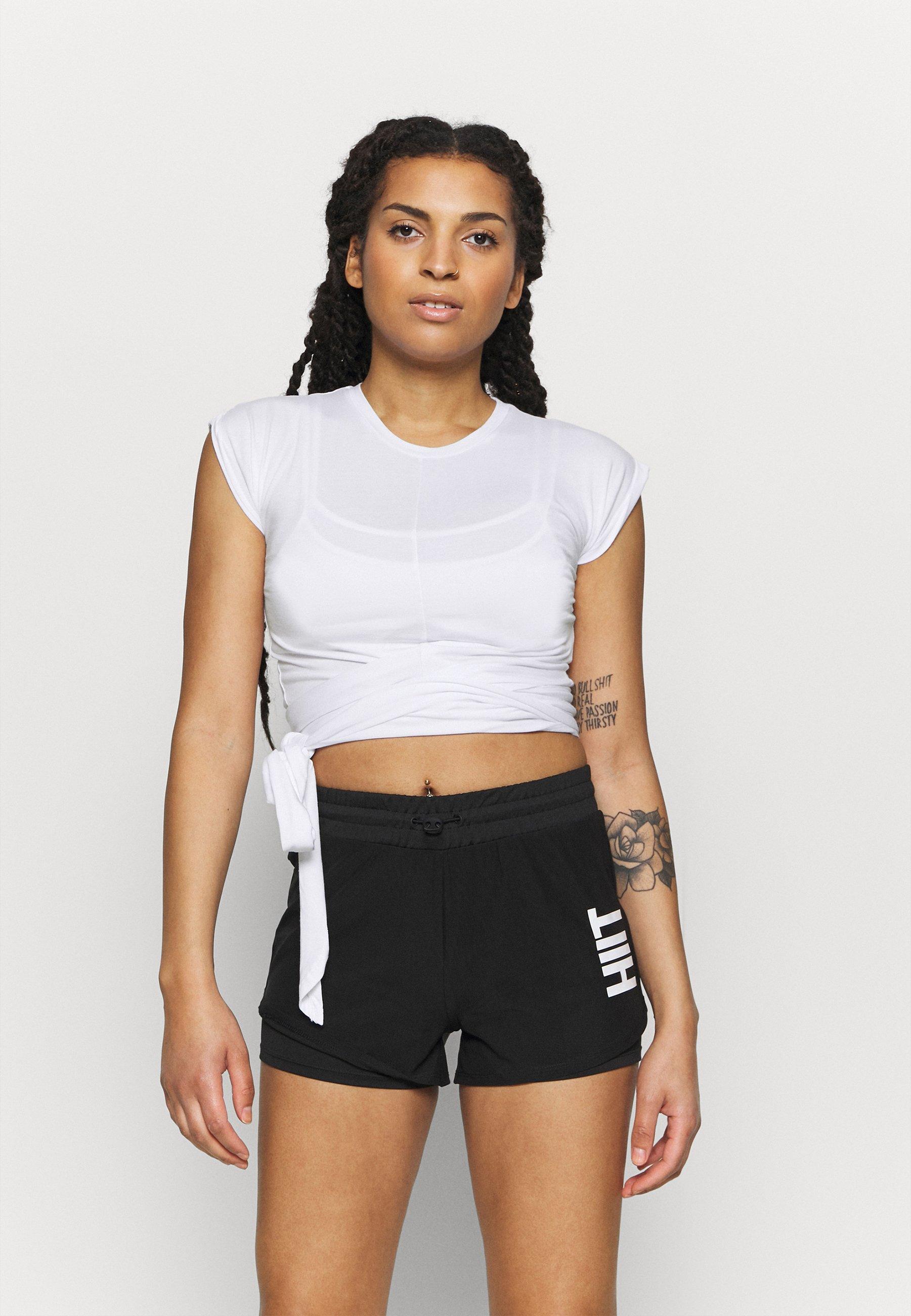 Femme TIE FRONT - T-shirt imprimé