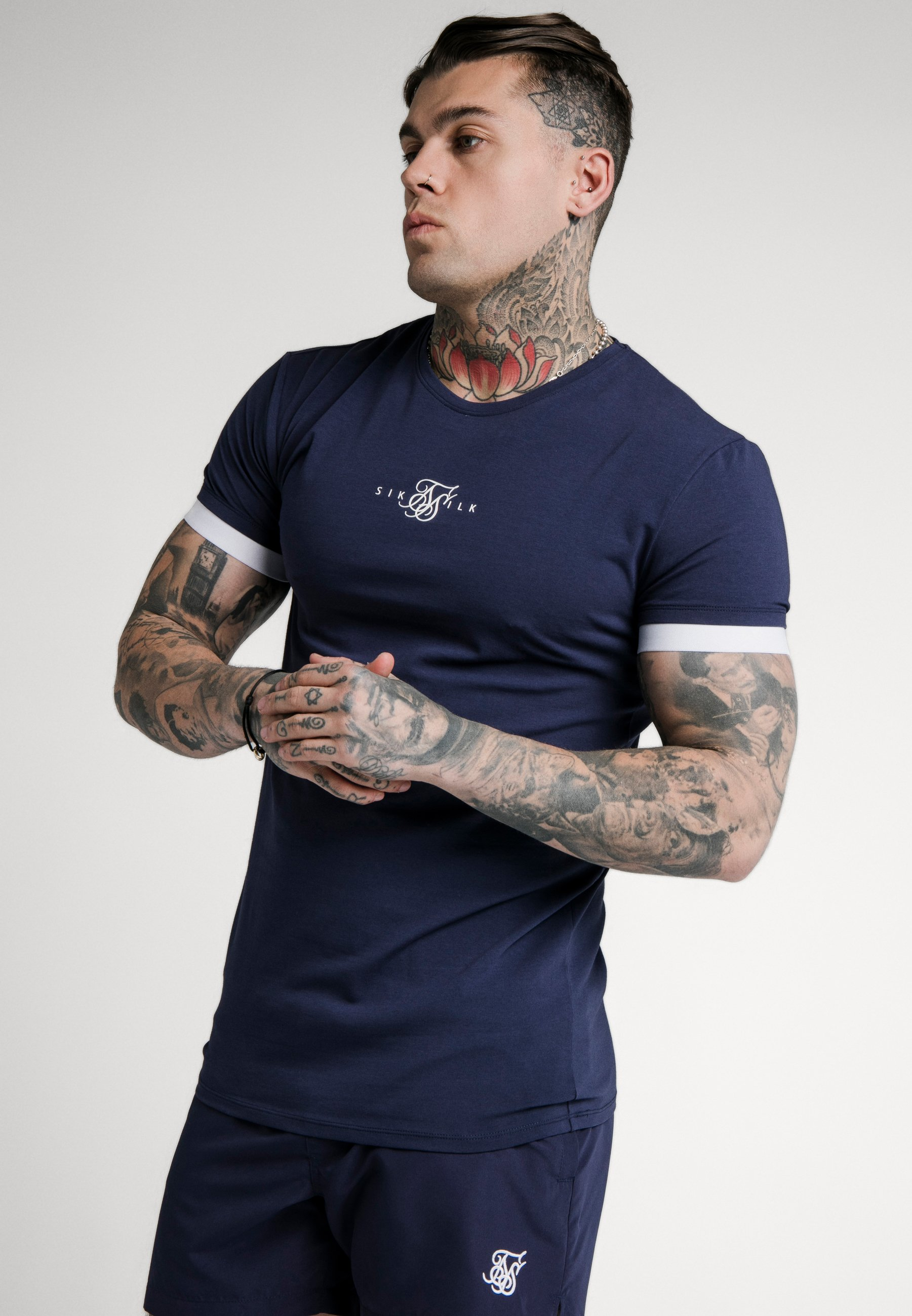 Homme INSET CUFF GYM TEE - T-shirt basique