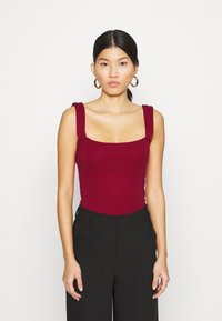 Anna Field - Top - dark red - 0