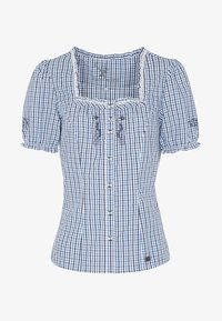 Spieth & Wensky - KAPRIO - Button-down blouse - blue/white - 3