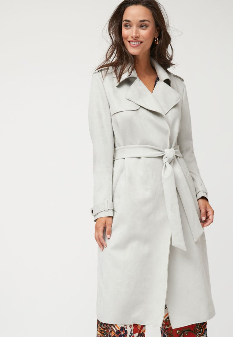 Next - Trenchcoat - white
