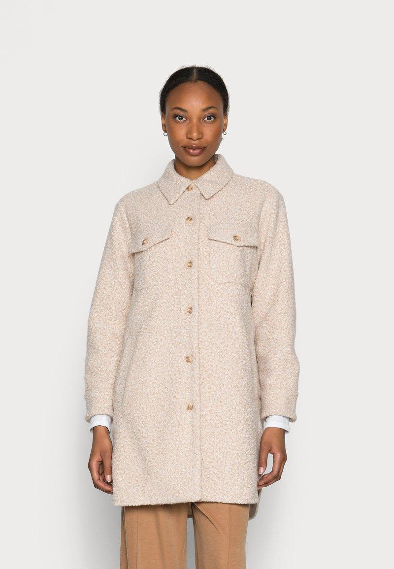 Opus - HALORE  - Classic coat - cream melange