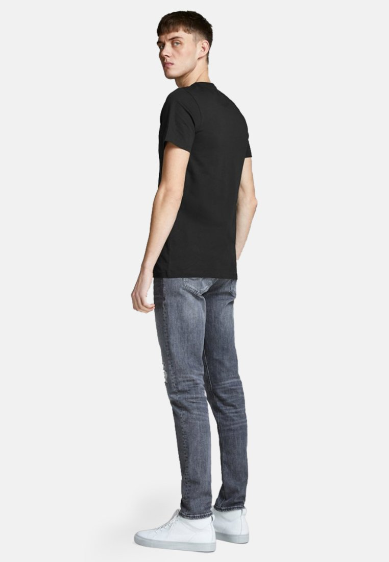 Jack & Jones JJECORP LOGO TEE O-NECK - Print T-shirt - black mTkJT